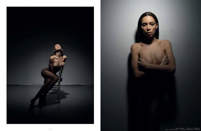 Inès Rau nude