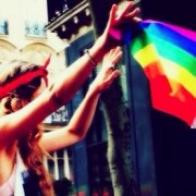 Drapeau Gay Pride 2013