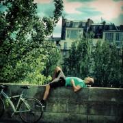La sieste le long de la Seine Paris 2013