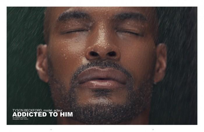 Tyson Beckford face