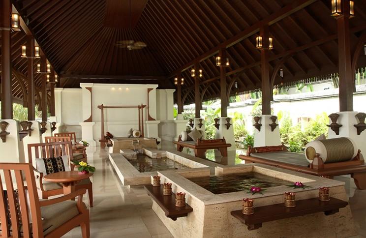 Reception areaat the Spa Village @ Pangkor Laut Resort,Pangkor Laut, Malaysia