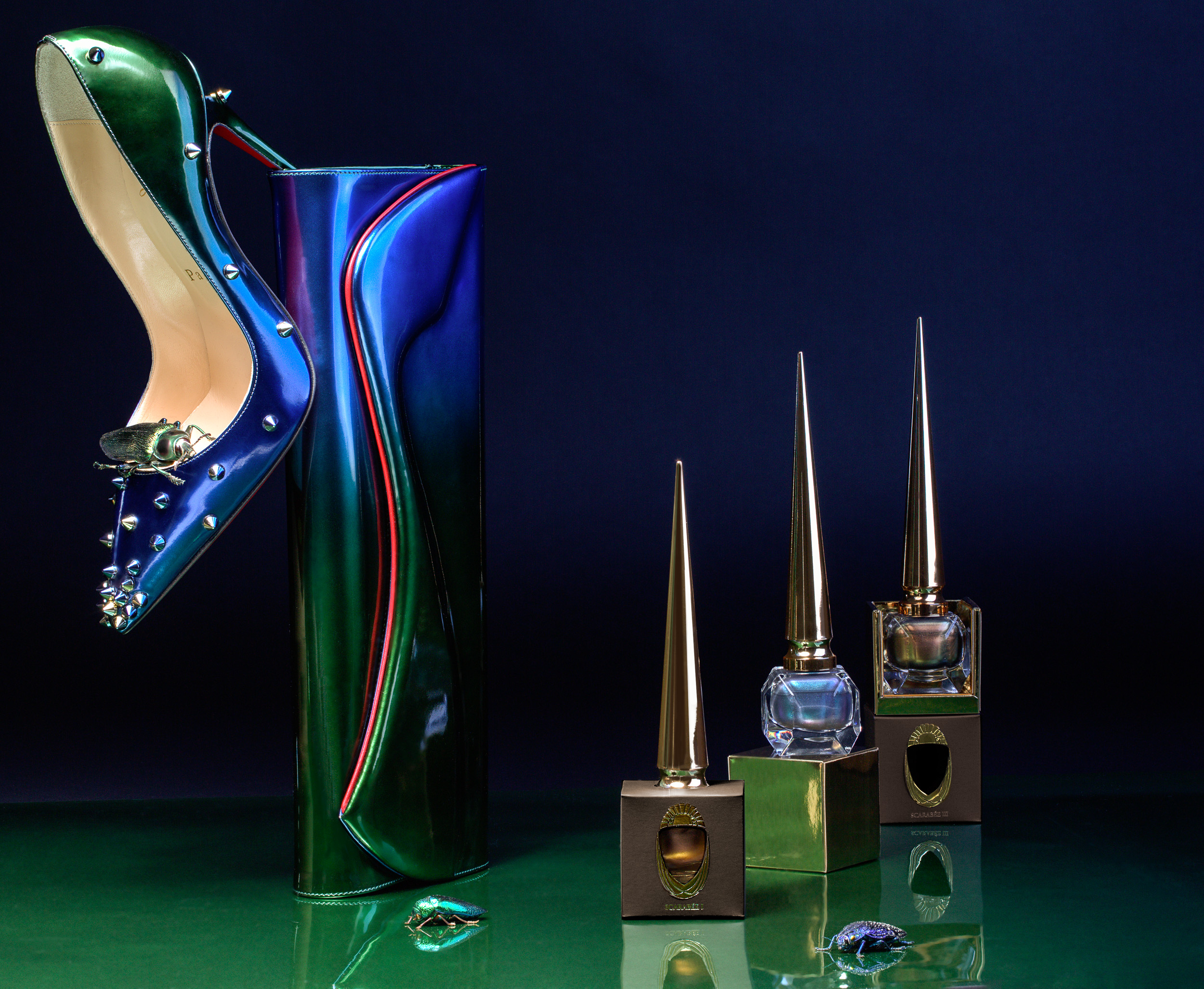 bf49a6f93082 CHRISTIAN LOUBOUTIN – NAIL POLISH – SCARABÉE LIMITED EDITION COLLECTION
